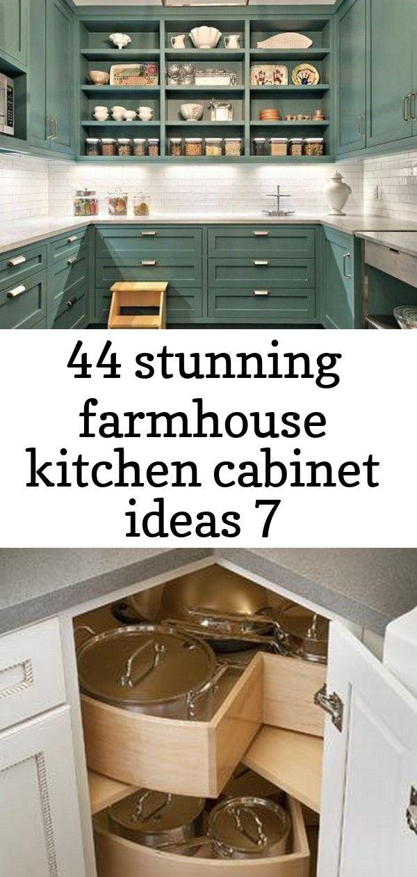 44 Stunning Farmhouse Kitchen Cabinet Ideas 7 Farmhouse Kitchen Cabinets Kitchen Cabinets Kitchen