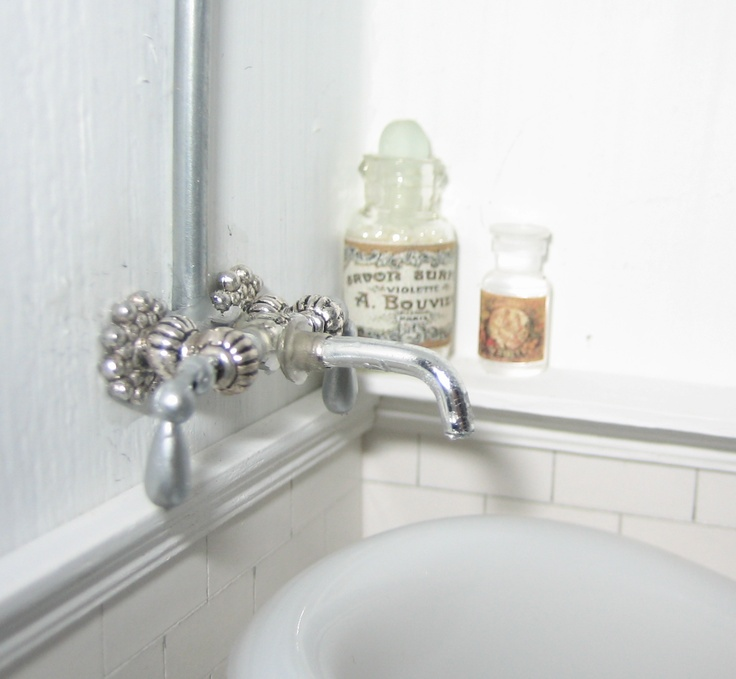 Dollhouse Miniatures Diy Tutorials: 95 Best Dollhouse Bathroom & Water DIY Inspiration Images