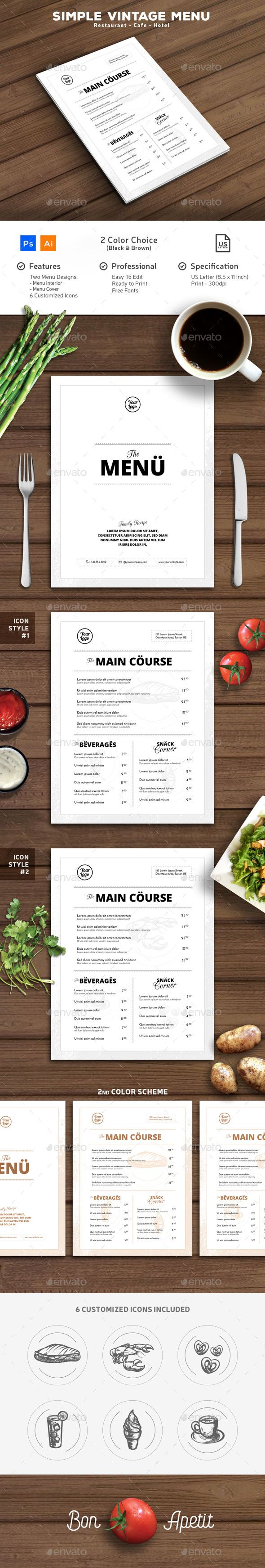 top 25 best vintage menu ideas on pinterest