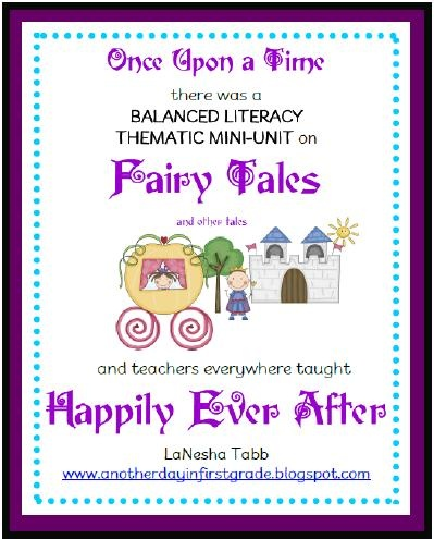 For Lorelei in the future!!  Mrs. Tabb @ First Grade Awesomeness: Fairy Tale Unit Part ONE