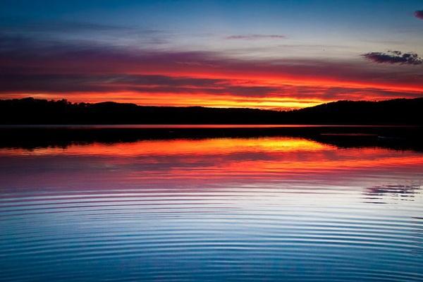 Narrabeen Lake Sunset