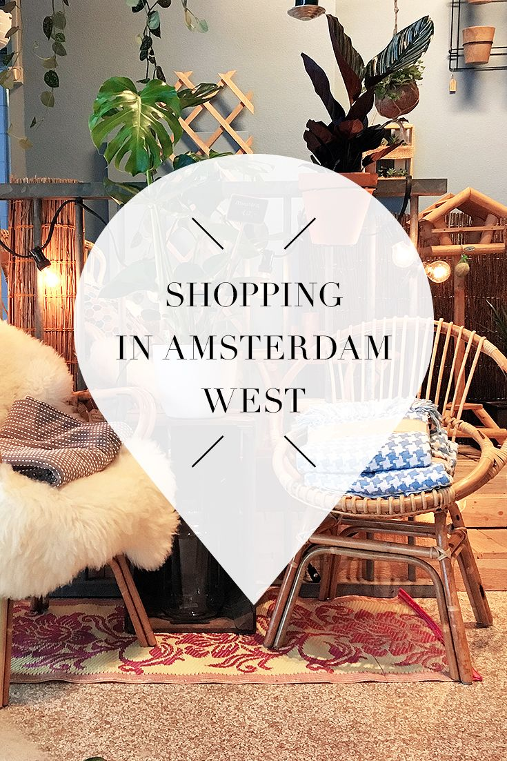 "Amsterdam West is the perfect area if you want to shop. There's a list with tips for the best hotspots, shops and more on travel blog http://www.yourlittleblackbook.me. Planning a trip to Amsterdam? Check http://www.yourlittleblackbook.me/ & download ""The Amsterdam City Guide app"" for Android & iOs with over 550 hotspots: https://itunes.apple.com/us/app/amsterdam-cityguide-yourlbb/id1066913884?mt=8 or https://play.google.com/store/apps/details?id=com.app.r3914JB"