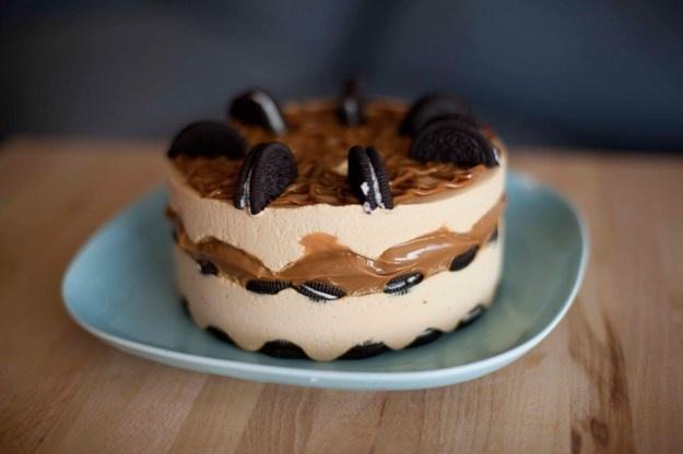 Torta helada de Oreo