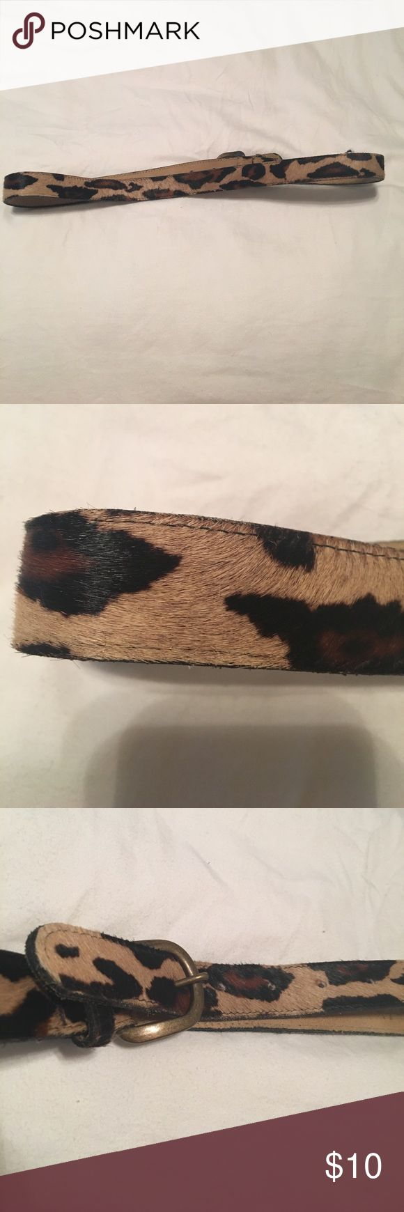 Cheetah print belt Used cheetah print belt rockin robin rockinrobin Accessories Belts