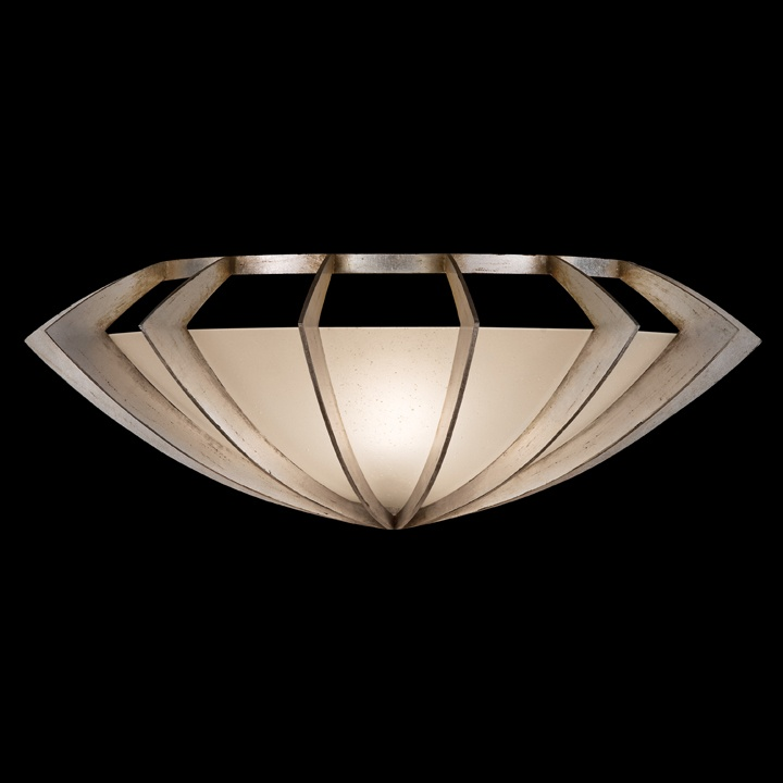 Staccato Silver Wall Sconce by Fine Art