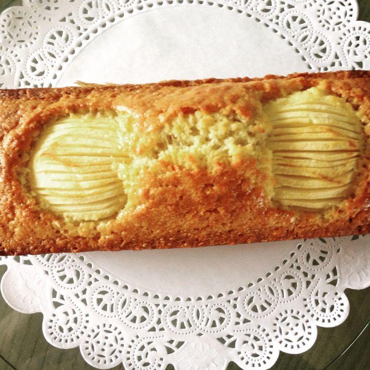 Een heerlijke havermout appelcake.