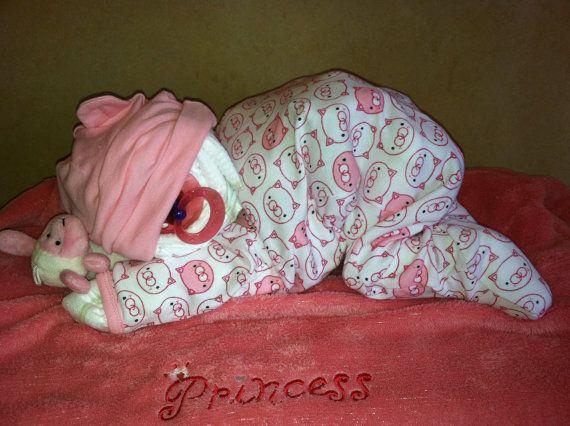 A Baby Diaper Cake
