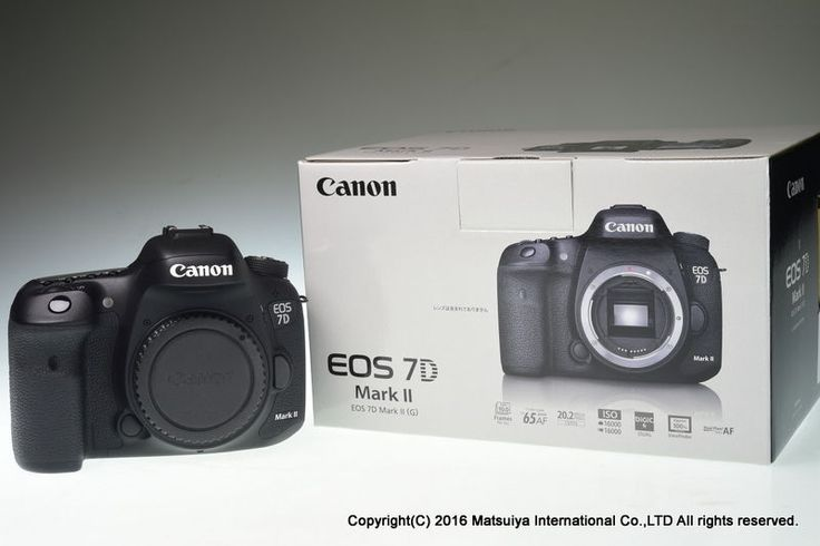 Canon Eos 7d Mark Ii Body 20 2 Mp Digital Camera Shutter Count 5148 Excellent Canon Eos Digital Camera Digital Slr Camera