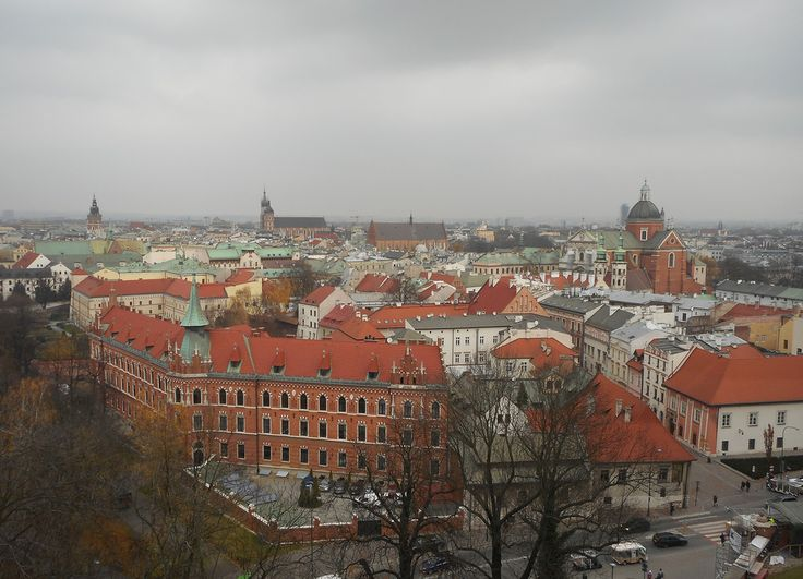 The view from Wawel over the Old City