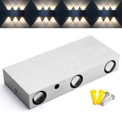 6W 6LED Wandlampe Wandleuchte Flurlampe Wandstrahler Effektlampe Beleuchtung