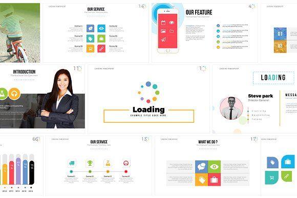 Loading Keynote Template by ZAAS on @creativemarket