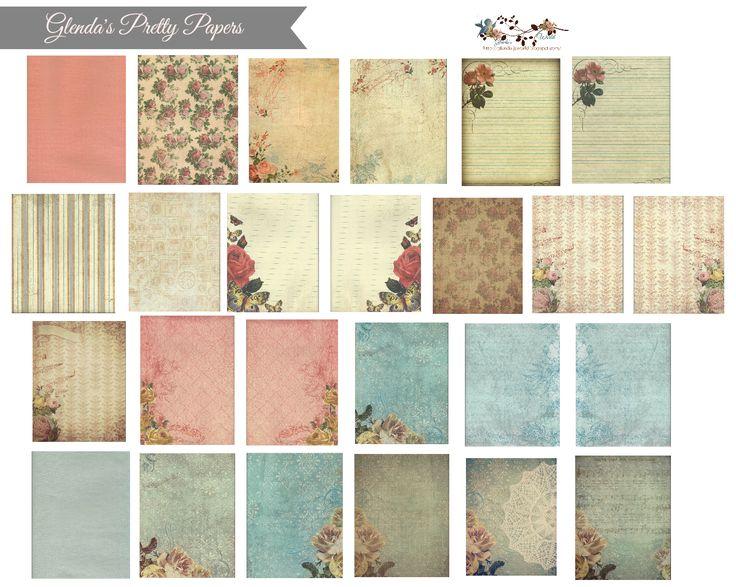 Glenda's Design Shop: Glenda's Pretty Papers