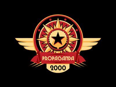 Dribbble - Propaganda 2000 Logo by Ioan Decean