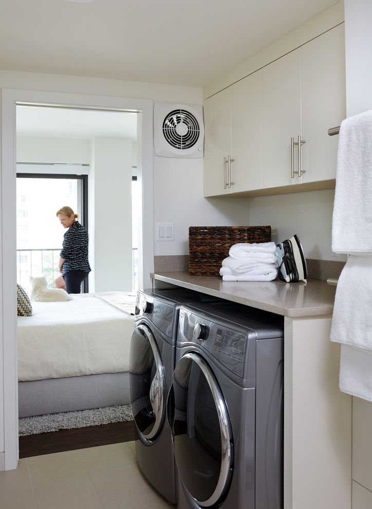 Contemporary Laundry Room 7 Laundry Room Home Appliances