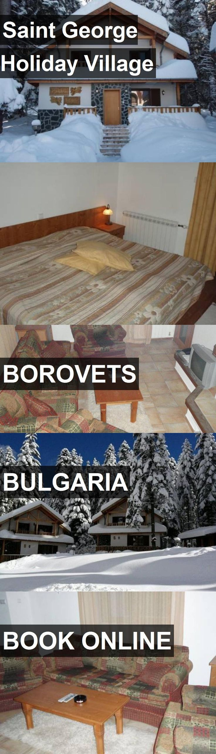 Hotel Saint George Holiday Village in Borovets, Bulgaria. For more information, photos, reviews and best prices please follow the link. #Bulgaria #Borovets #SaintGeorgeHolidayVillage #hotel #travel #vacation