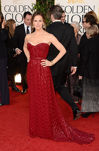 "Best Lover of Ben Affleck: Jennifer Garner  Playing the supportive ""it's not about me tonight"" role as the famous date to a famous nominee is a hard line to walk. We have to give it up to Garner for looking gorgeous in her own right in red sequins, but not so flashy that she's going to draw focus from Ben. At least she can wear whatever she wants to the Oscars."