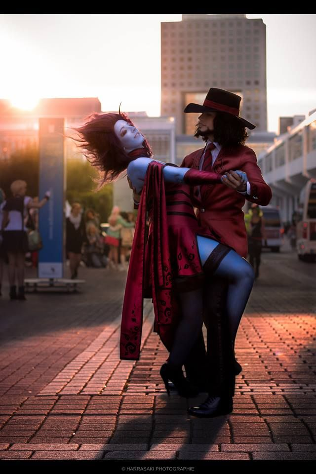 Cosplayer: Knux Cosplay & Despairs Cosplay Character: Twisted Fate & Evelynn From: League of Legends Photographer: Harrasaki Photographie Country: Germany and Switzerland
