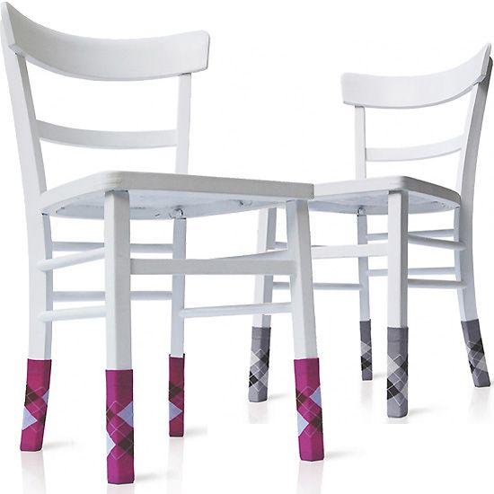 Chair socks will be easy to crochet #chair #socks #crochet