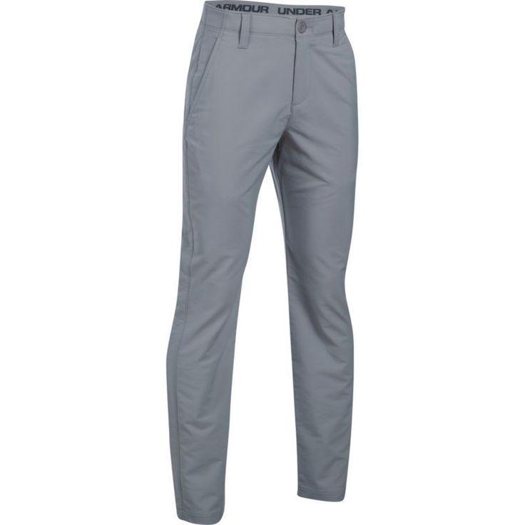 Under Armour Boys' Match Play Golf Pants, Size: 12, Gray #GolfPants
