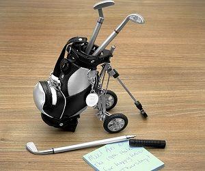 Golf Club Pen Set - I don't even like golf...