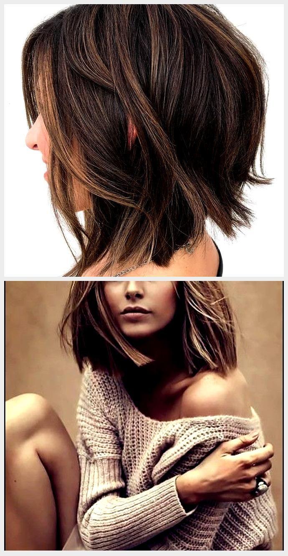 60 Lustige Und Schmeichelhafte Mittlere Frisuren Fur Frauen Bobhairstylesmedium Frauen F In 2020 Hair Styles Beauty Hair
