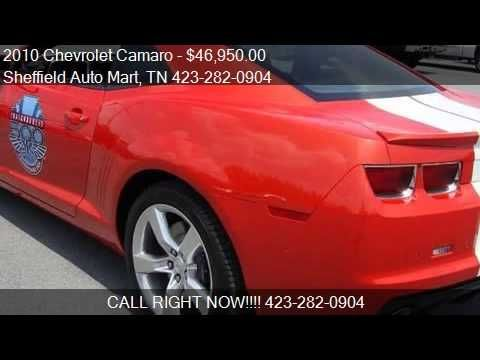 2010 Chevrolet Camaro 2SS Indy Pace Car Replica for sale in