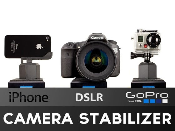 EZ-Steady- iPhone, DSLR, GoPro Camera Stabilizer by Kyle Hart, via Kickstarter. Great for people who loves to make movies