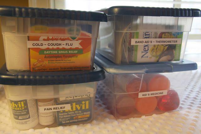 simply organized: simple solution: medicine organization
