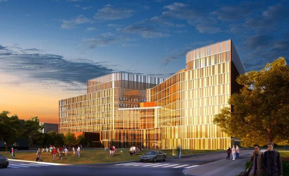 School of Medicine and Biomedical Sciences at University of Buffalo, USA by HOK Architects