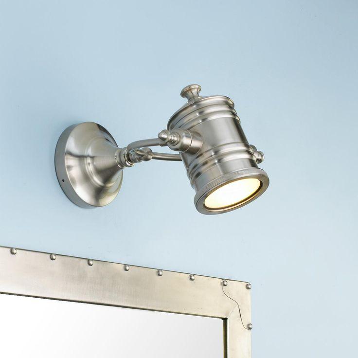 Industrial spotlight flush mount convertible ceiling light for Industrial flush mount lighting