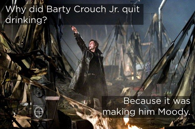 Heh. Some of the best Harry Potter jokes in this link.