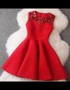Piękna sukienka rozkloszowana   Cena: 89,00 zł  #asymetryczna #nowasukienka #taniasukienka
