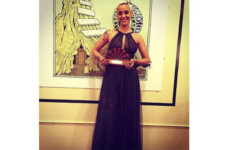 Mariza, la cantante portuguesa más internacional, ha recibido el título de'Maestro de la música mediterránea'por la universidad deBerklee, en Boston.