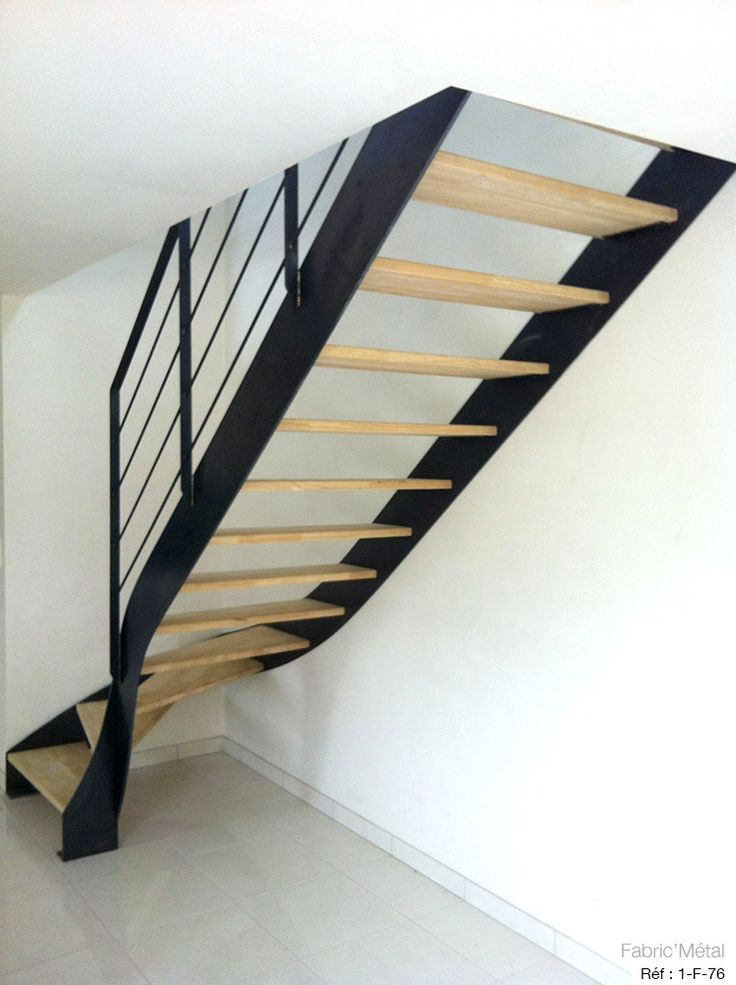 les 25 meilleures id es de la cat gorie escalier bois metal sur pinterest escalier design. Black Bedroom Furniture Sets. Home Design Ideas