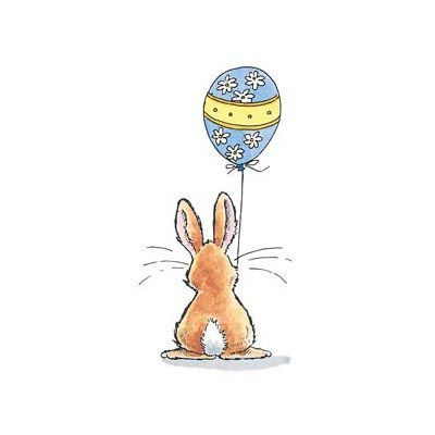 Penny Black ~ easter balloon    Product No: 2865K
