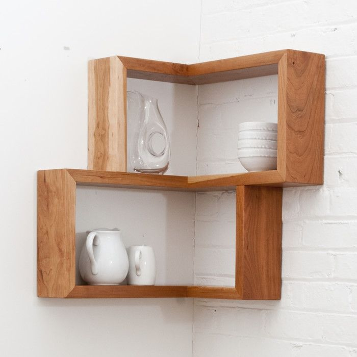 Best 25 wall mounted corner shelves ideas on pinterest Corner wall mounted shelves