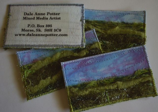 Textural Business Cards