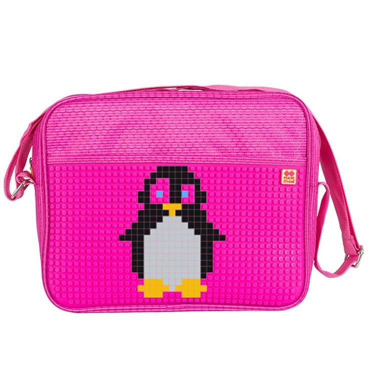 PIXIE CREW Messenger/ Shoulder Bag FUCHSIA - No pattern - Shoulder Bags  | Pixie Crew