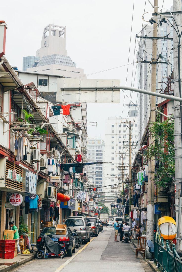 An old Shanghai street