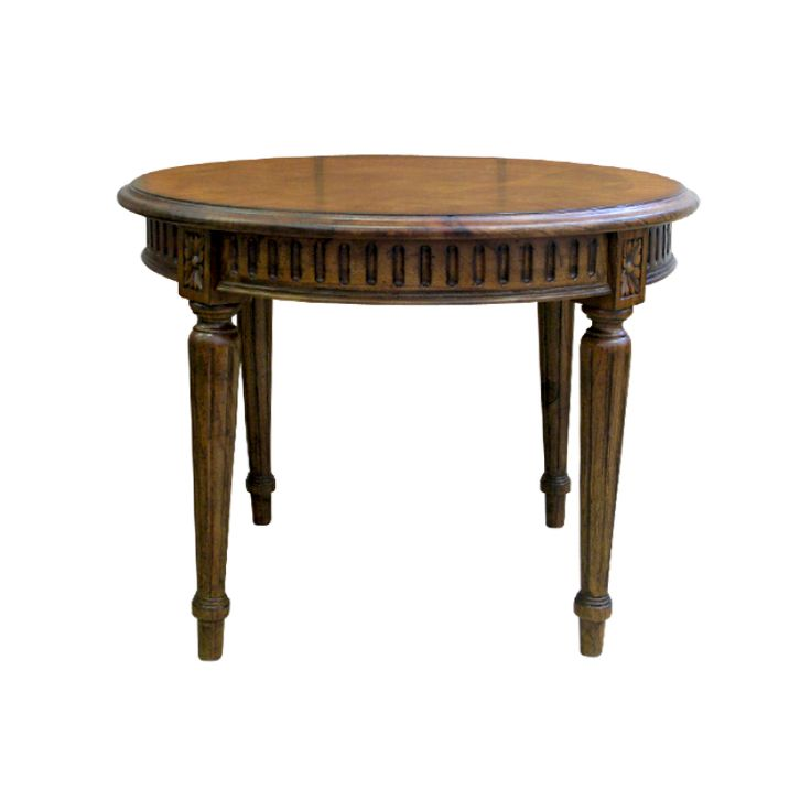 Round French Occasional Table