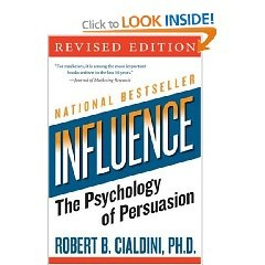 'Influence: The Psychology of Persuasion' by Robert Cialdini - £5