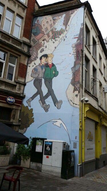 Broussaille, Plattesteen, Bruxelles