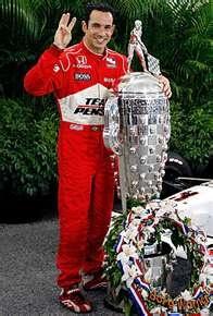 Helio Castroneves...3x Indy 500 winner