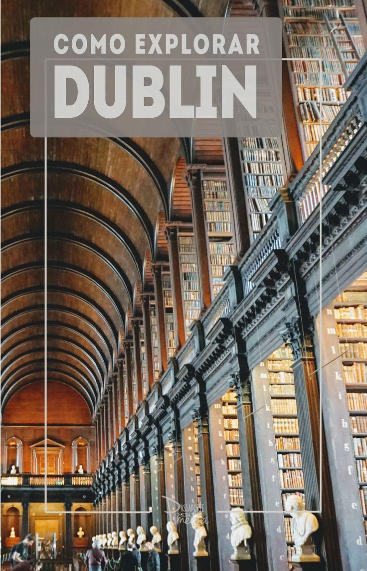 Ir para a Dublin e não vivenciar a experiência da Guinness é deixar o passeio incompleto. O Museu é totalmente interativo, curioso e interessante. Vale a pena para os amantes ou não da cerveja.