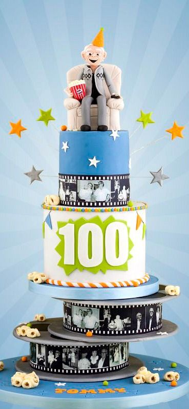 56 best 100th birthday cake images on Pinterest 90th birthday