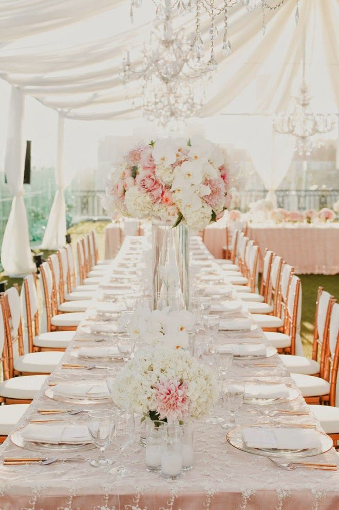 188 best Long Table Centerpieces images on Pinterest | Marriage, Wedding  and Tables - 188 Best Long Table Centerpieces Images On Pinterest Marriage
