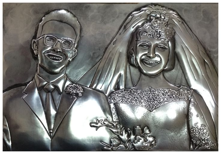 50th anniversary wedding portrait. Commission by Yvonne Botha, www.facebook.com/mimmicgalleryandstudio www.mimmic.co.za
