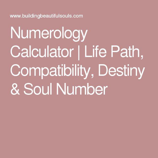Numerology Calculator | Life Path, Compatibility, Destiny & Soul Number