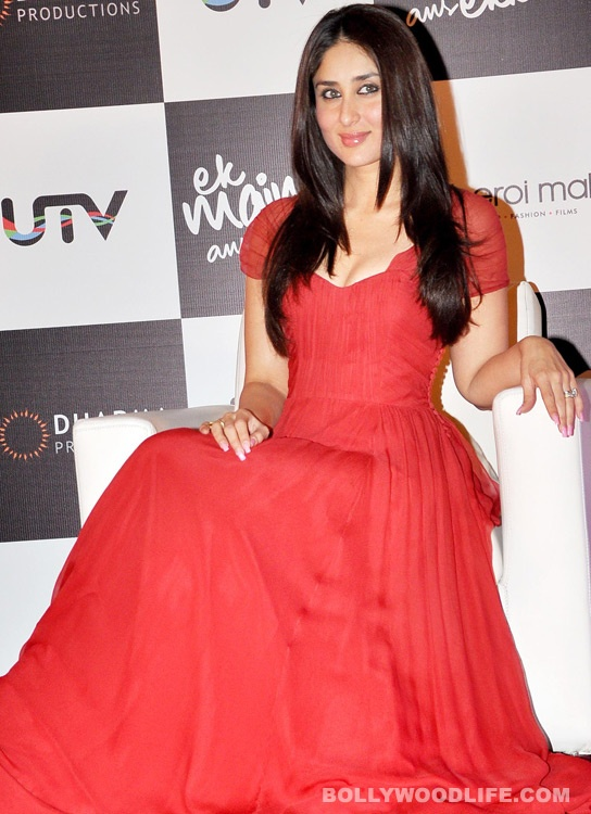 Kareena Kapoor in a red outfit for Valentine's Day!