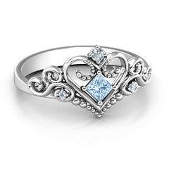 Fairytale Princess Tiara Ring #jewlr